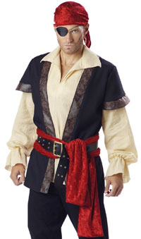 Adult Pirate Costume. Believe it or not, there was a time when we had almost ...