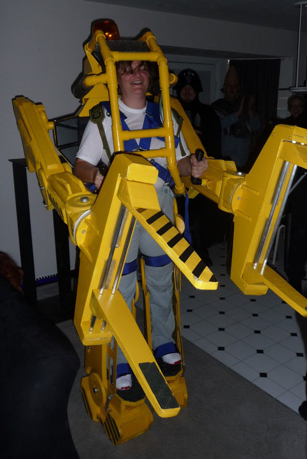 Aliens-Power-Loader-Costume & Aliens Powerloader Costume | Costume Pop
