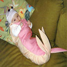 Baby Shrimp Costume