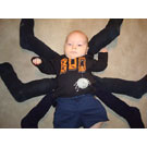 How to Make a Baby Spider Costume