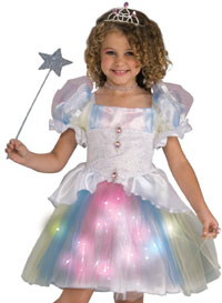Rainbow Ballerina Princess Costume