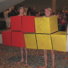 Tetris Block Costumes