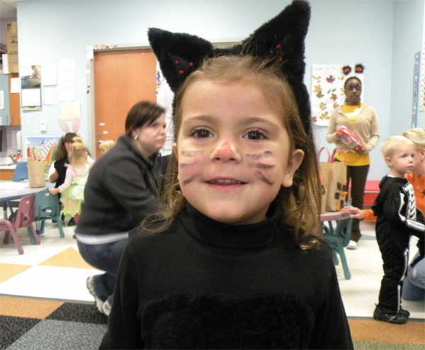Sexy Cat Face Paint http://costumepop.com/how-to-make-costumes/how-to-make-a-simple-cat-costume/