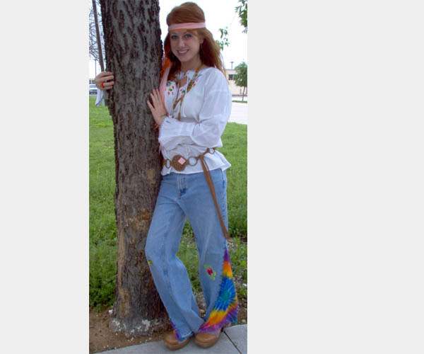 Homemade Hippie Outfit