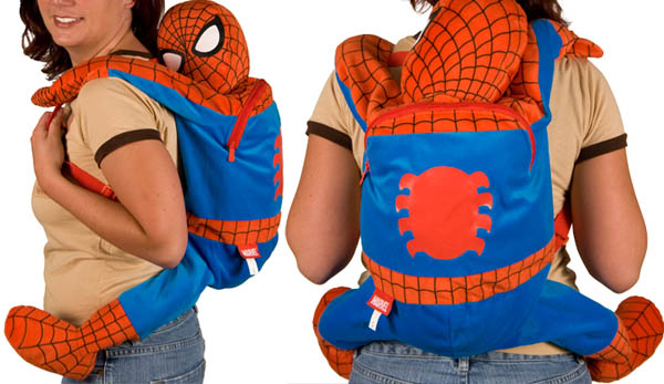 Marvel-Spider-Man-Plush-Backpack