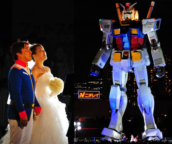 Odaiba-Gundam-Wedding