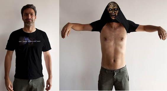 Resident-Evil Zombie-T-shirt