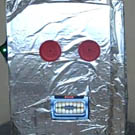 Robot Mask with iPhone Mouth