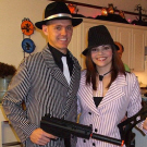 Mobster Costume Party
