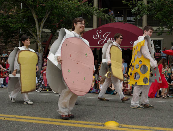 sandwhich group costume Group Costumes for Halloween