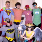 Superhero Costume Party