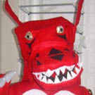Guilmon Digimon Costume