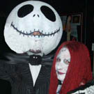 Nightmare Before Christmas Jack and Sally Costumes