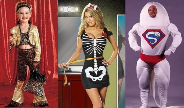 funny homemade halloween costumes. Retro Costume Photos