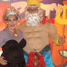 Ursula the Sea Witch and King Triton