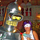 Bender & Leela from FUTURAMA
