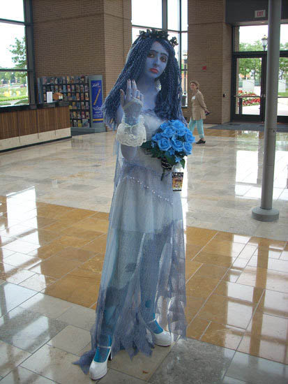 corpsebridecostume Don 39t look so blue Emily after all it is your wedding
