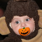 Curious George and his Pumpkin Pacifier!