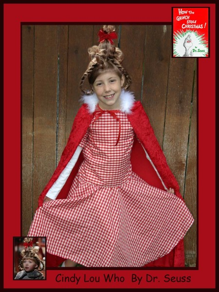 Dr. Seuss Cindy Lou Who Grinch Costume