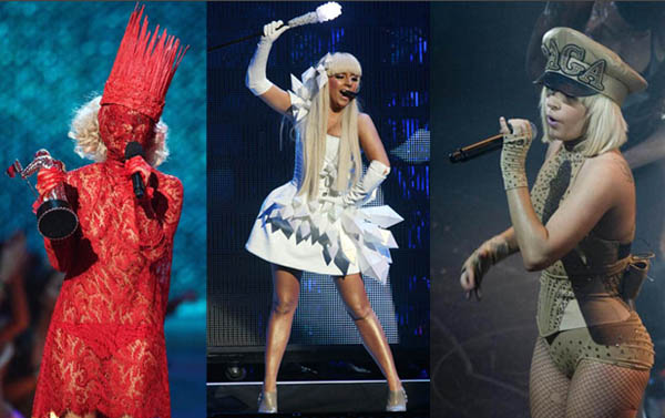 lady gaga outfits to make. Gaga#39;s Back With Another