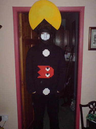 pacman-eating-costume