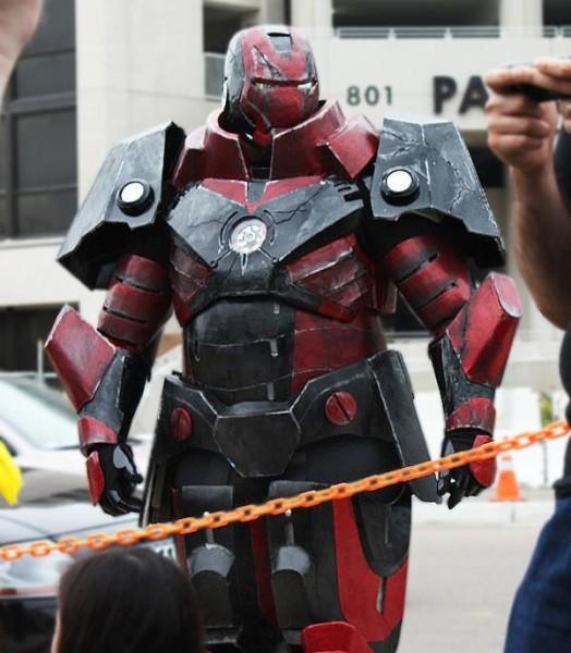 diy iron man suit instructions