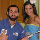 Billy Mays w/ his Oxiclean