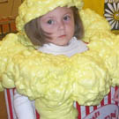 Box of Popcorn Costume
