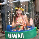 Hawaii Snow Globe Costume How-To