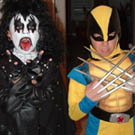 KISS and Wolverine Costumes