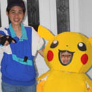 Pikachu and Ash Costumes