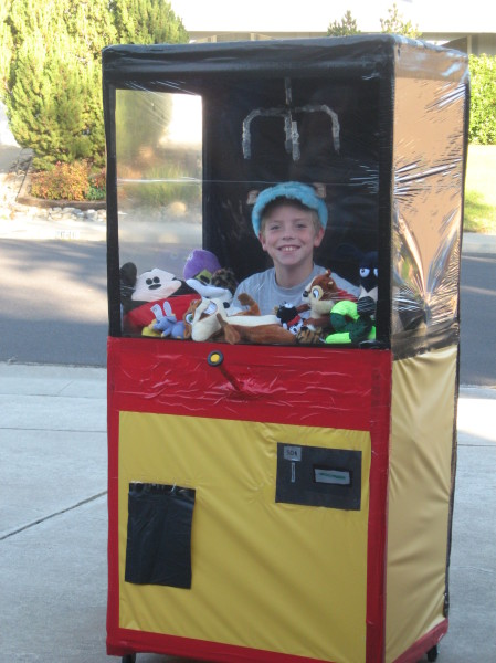 How To Make A Claw Machine Costumes Costume Pop