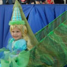 The Princess and her Dragon Costume