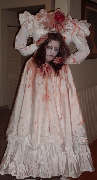 halloween costume wedding dresses across this wedding dress