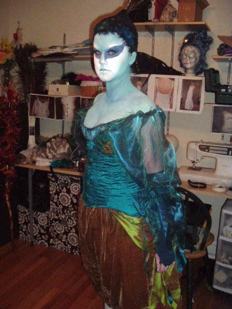 peacock fairy costume Homemade Mario and Luigi Couple Costume
