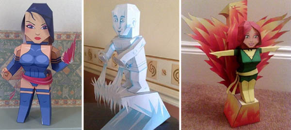 marvel-comics-papercraft