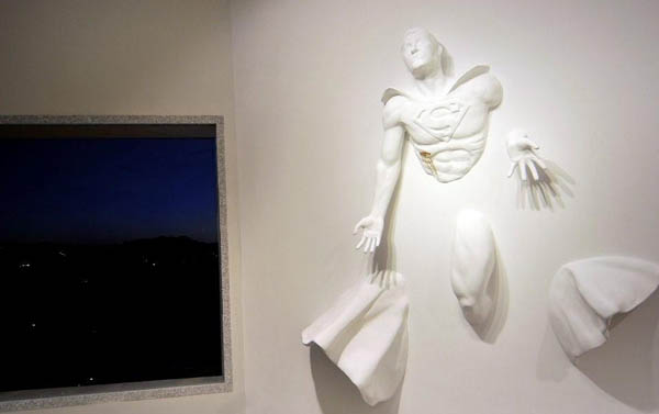 Superhero Sculptures by Adrian Tranquilli2
