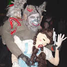 Flying Monkey and Dorthy Costume