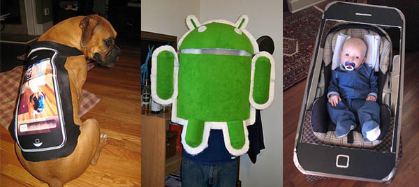 25 Insane iPhone And Gadget Costumes