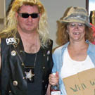 Dog the Bounty Hunter and Hobo Costumes