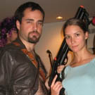 Evil Dead and Tomb Raider Costumes