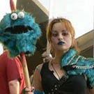 Cookie Monster Hunter Costume