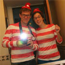 Where's Waldo Couple Costumes