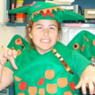 Green Scaly Dragon Costume