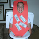 Money Going Down The Toilet Economy Costume