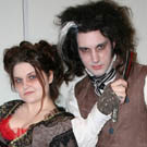 Sweeney Todd and Mrs. Lovett Costumes