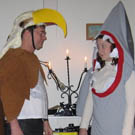 Eagle vs Shark Couples Costumes