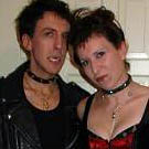 Gothic Vampire Couples Costume