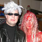 Andy Warhol and Carrie Costume