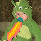 Baby Fire Breathing Dragon Costume